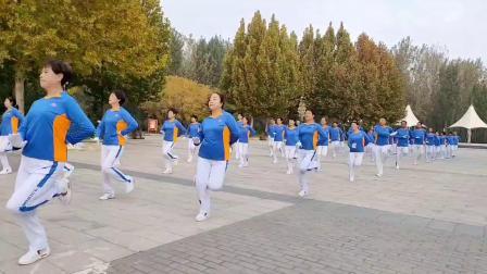 文安森林公园健身操队