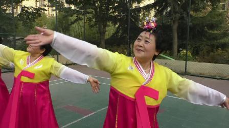 舞蹈-我祝祖国三杯酒-西区老年协会(韩东勋)
