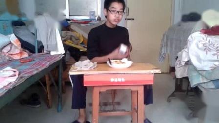 靳明的2013年第一版的 咸炒蛋饭