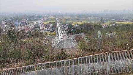 20200321 141924 西成高铁G1888次列车出中梁山隧道进汉中站