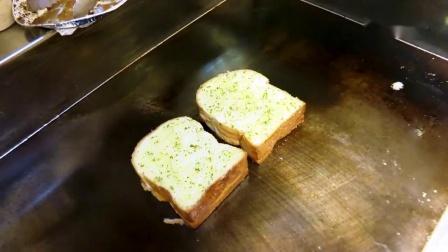 大蒜培根芝士 煎蛋捲三明治