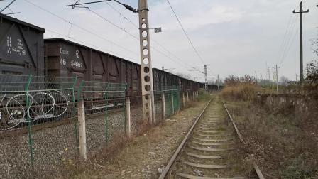 20200321 155658 阳安线HXD2货列出汉中站通过原道口