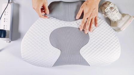 记忆棉按摩一体枕使用视频