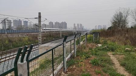 20200322 133831 西成高铁G1976次列车出汉中站