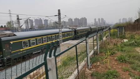 20200322 134059 阳安线K768次列车出汉中站