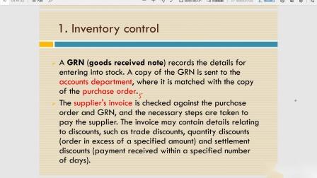 ACCA MA Inventory control知识点讲解