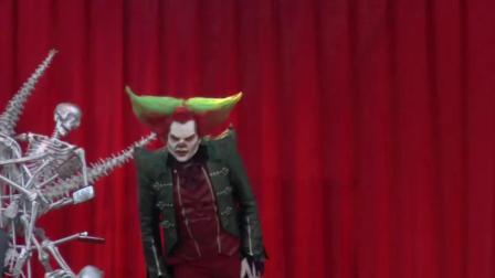 Eddie de Clown Eddie Show Madness Halloween