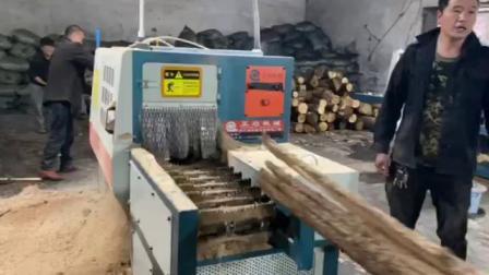 原木多片锯 木材 木板 方木多片锯 清边机 佛山市南海区正启机械厂 多片锯机械