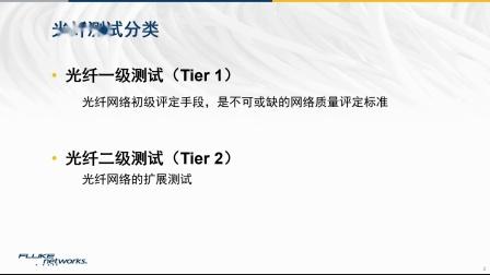 【福禄克网络-开课啦!】什么是光纤一级测试--吕志新