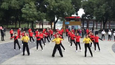 孝感市舞动人生舞蹈队-2020年重阳节汇演《对面小姐姐》
