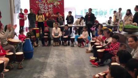 唱诵--大人孩子击鼓对唱1597368655030