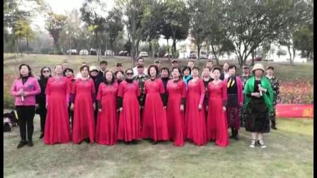 大合唱《我和我的祖国》表演 凤灵文化艺术团