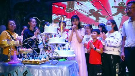 祝贺李蓝馨12岁生日快乐