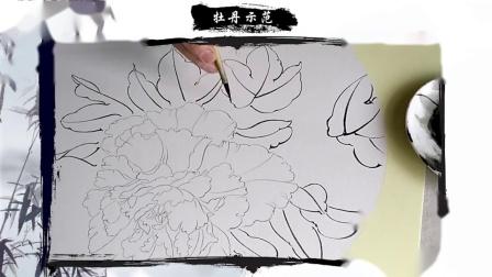 芙蓉工笔画画法 湖南工笔画培训 工笔画法教学视频 工笔画
