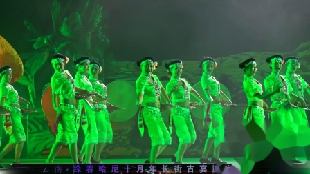 艺联音像-绿春长街宴晚会片段之《劳作歌》