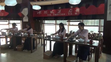 茶艺集体表演 天晟161