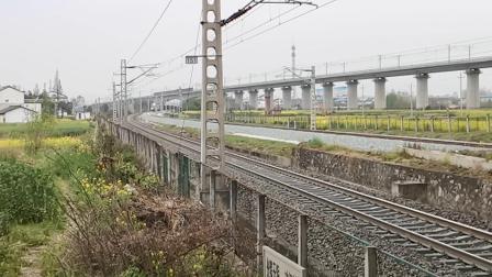 20200324 170027 阳安线HXD2货列接近王家坎站