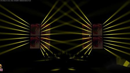 《G2》声光舞美科技 3D灯光秀作品