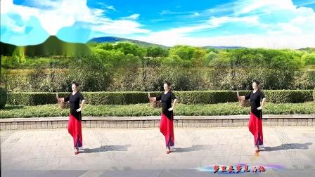美玲玉广场舞《再唱兰花花》