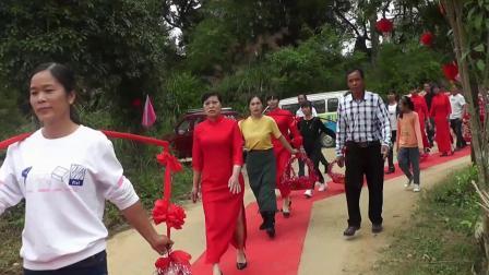 2020年那恩村重阳节姐妹回娘家敬老活动