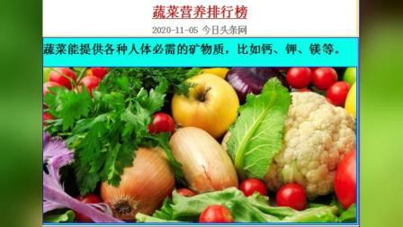 蔬菜营养排行榜  MV_202011050842