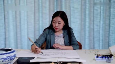 山水画的基础知识 自学山水画三年 梁蓉基山水画技法 初学