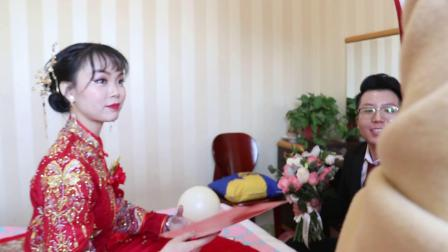 2020  10  5新郎贺小龙  新娘黄灿