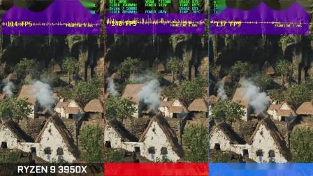古墓丽影:暗影 5800X/10900K/3950X性能对比测试视频