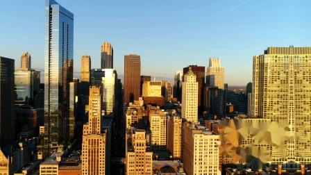 伊利诺伊  芝加哥 无人机街拍 Chicago Drone Video