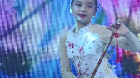 112、钟澄 独舞《笛中花》星耀杯全国校园舞蹈展演