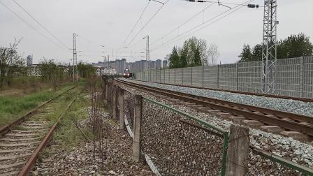 20200328 132119 阳安线HXD2货列进汉中站