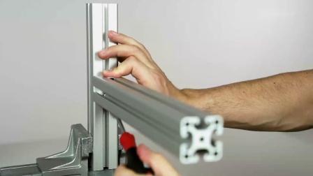 型材紧固件安装指导-item 通用紧固件
