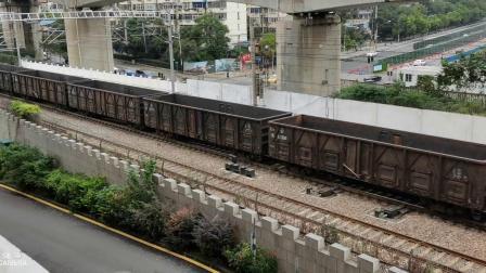 11348次货运列车