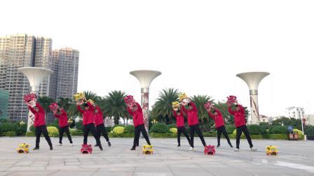 群狮报喜幼儿舞蹈
