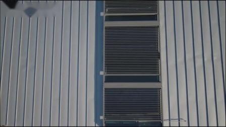 赛尚遮阳~山东艺术学院户外可调光百叶工程视频展示