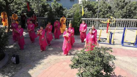 城厢区华亭镇后塘村许厝女子舞蹈表演:我是佛前一朵莲