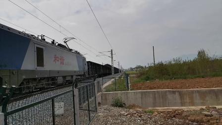 20200401 145044 阳安线HXD2货列进汉中站