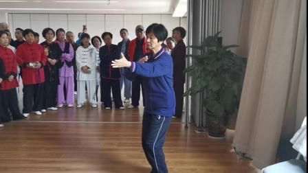 曾美英老师42式太极拳上课视频剪辑5