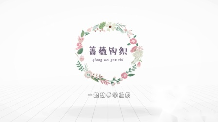 蔷薇钩织视频第198集婉菊帽子片头