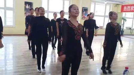 初级库车民族健身舞