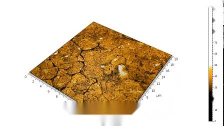 Wafer metallization sample