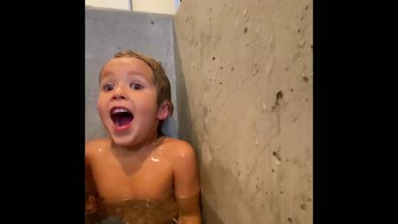 KIDS UNDERWATER During Quarantine Coronavirus Pandemic of Covid-19