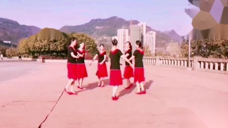 王妹儿广场舞(407号)圈圈舞《欢聚一堂》