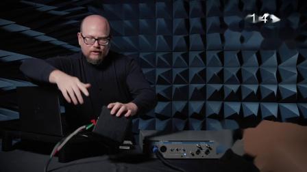 APx517B和扬声器测试设置