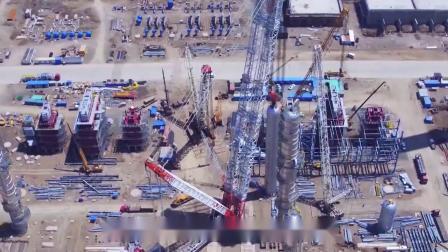 打破世界纪录,中国建造全球最长泵车,混凝土可一次运送到30层楼