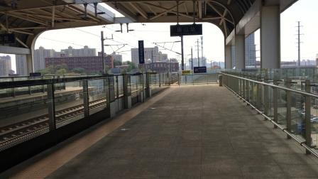 【CRH2A】武咸城际C5004次进庙山站第一站台停车