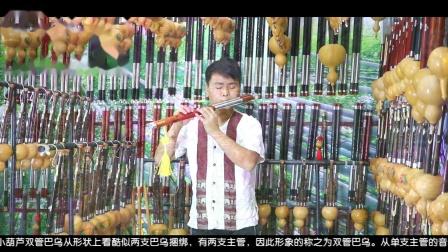 双管巴乌 今生只为与你邂逅- 小葫芦 双管巴乌作品 演奏  葫芦丝独奏