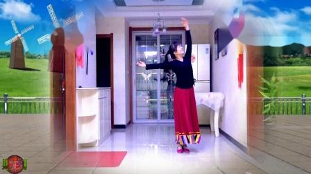 彬县广场舞《月光下的美人.》mp4编舞;春英,习舞;海棠