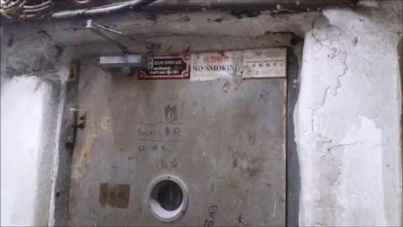 香港手拉门的三菱电梯