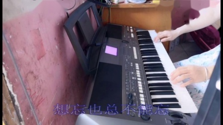 云淡风轻电子琴演奏---《你》